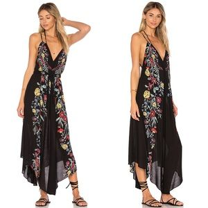 Free People Ashbury Slip Midi Dress